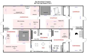 Rorschach Complex floor plans by UniqueNudes