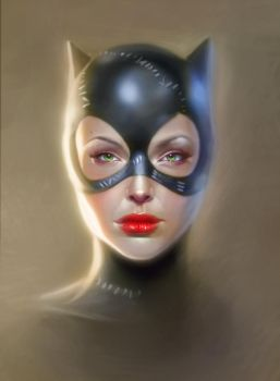 Catwoman by cgaddictworld