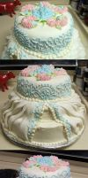 FINAL: Wedding Cake by megilwenn