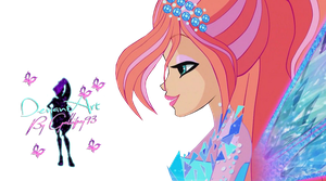 Winx Club Bloom Potere Di Tynix S7 - PNG by Gallifrey93