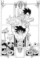 Enter The Dragonball Z by Nes44Nes