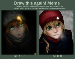 Draw This Again Meme by HugMonster341