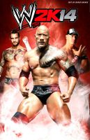WWE 2K14 fan made poster by ultimate-savage