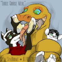 Vore: Three Course Meal by thecruelseasons