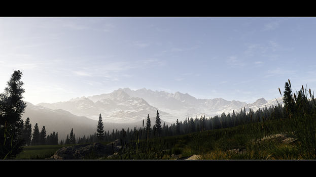 Away In the Alps by Wetbanana