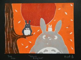 Totoro's Rising Sun by ProNorst