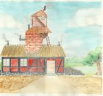 Weasley cottage by kaelekompot
