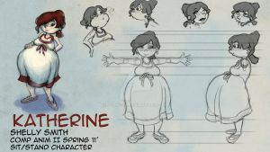 Character Design- Katherine by Syra-728