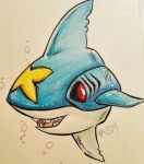 Sharpedo by MistressMustang