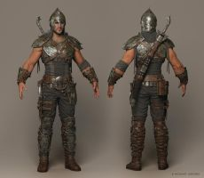 Faris Cinematic Character by mabdelfatah