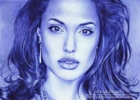 Angelina Jolie by 22Zitty22