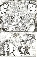 red sonja page 3 by mrfussion