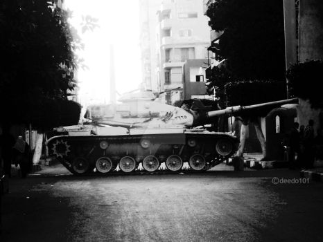 Tank in PortSaid by deedo101