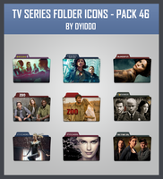TV Series Folder Icons - Pack 46 by DYIDDO