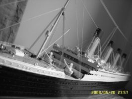 my Titanic model by Sam-wyat
