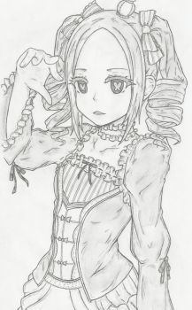 FanArt : Re Zero Hajimeru, Beatrice less chibi ! by Texhnolized