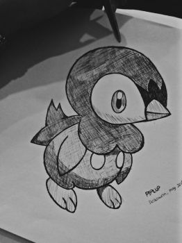Piplup by hydrocodon3