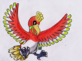 #250 - Ho-Oh by GTS257-CT