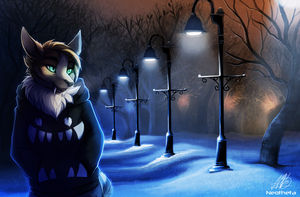 Winter Lamps by Neotheta
