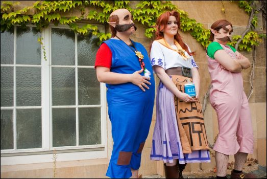 LonLonRach Cosplay Crew - Malon, Talon and Basil by Fall3nW1ngs