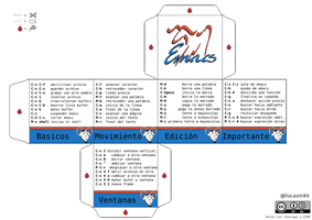 Emacs Cube Cheat by lucasm86