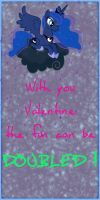 MLP Valentine Luna by JiMMY--CHaN