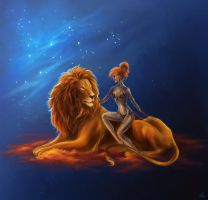 Lion by Fabera