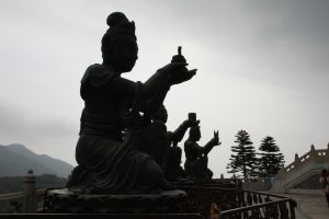 Praying Statues. by asaluiphotography