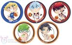 Knb chibi buttons by mmishee