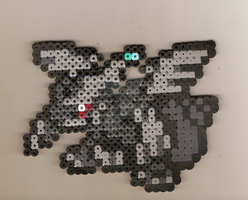 Zekrom Bead Sprite by GaneneTheDefendra