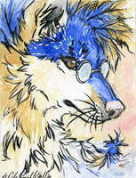 ACEO.:.Sunny Day by WhiteSpiritWolf