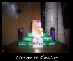 Stairway to Addiction by LeTombeCelui