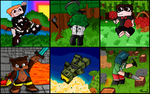 Rooster Teeth - Achievement Hunter - All For One by Phantom-Wolf42