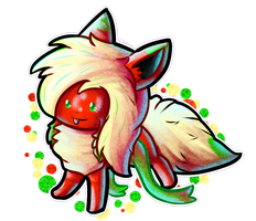 Flarily-chibily-Flare(Giftart) by Floofveon