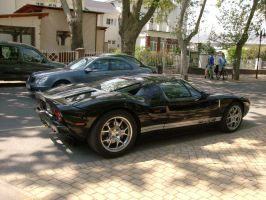 Ford GT left-back view by Mate397