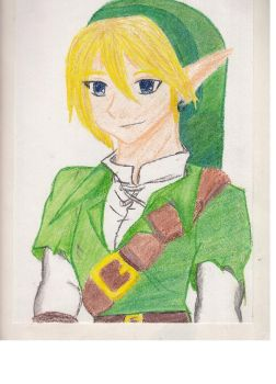 Colored Pencil Link by TTGirlFan