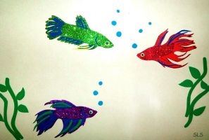 Betta Fish Nursery by SlayerSyrena
