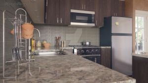 The new little kitchen by meling-3d