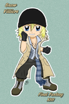 FF XIII - Chibi Snow Villiers by dyzzispell