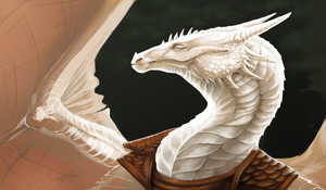 The white dragon by moodymod