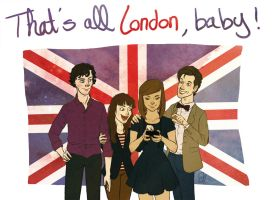 That's all London, baby! by RaiseYourChickenWing