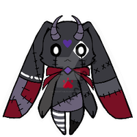Evil doll monster pet Adoptable Closed by AS-Adoptables