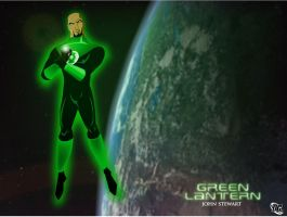 Justice League - GL J. Stewart by imapuniverse