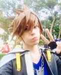 Sora Cosplay - Kingdom Hearts 2 by DakunCosplay