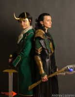 Loki and Loki, Minicon 2015 by Shiera13