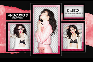 PACK PNG 62 | CHARLI XCX by MAGIC-PNGS