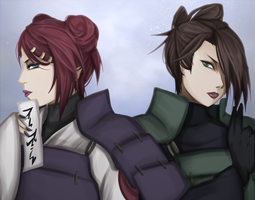 Sisters in arms by FireEagleSpirit