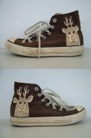 Deer sneakers by Teagle