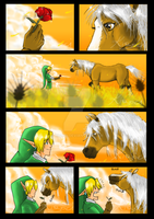 TLOZ: A rose for Epona by kigoci