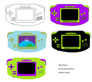 GBA Bases by MysteriousMew